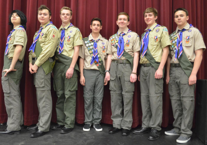 Troop 27 Eagle Scouts - 2015 Eagle Court of Honor