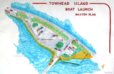 Click to enlarge image of Boat Ramp Master Plan