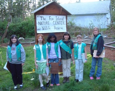 Click here to see more of the Girl Scout Garden